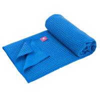 [当当自营]皮尔瑜伽 真密纤维防滑颗粒 瑜伽铺巾蓝色