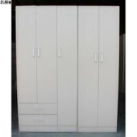 衣柜简易衣柜两门衣柜三门衣柜储物柜人造板衣柜北京送货到家