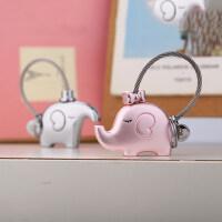 米勒斯情侣钥匙扣一对象 钥匙圈创意链 汽车挂件 卡通可爱公仔