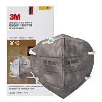 3M口罩活性炭呼吸阀防雾霾粉尘喷漆异味装修甲醛有机蒸汽 9042头戴款(1盒25个)无呼吸阀