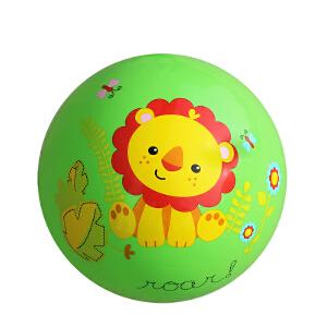 【当当自营】费雪FisherPrice 9寸宝宝拍拍球 婴儿玩具球幼儿园拍拍球玩具皮球(送打气筒)-绿F0516-2