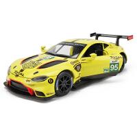 仿真1:32阿斯顿马丁GT跑车合金车模儿童玩具车汽车模型回力车