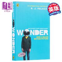 【中商原版】奇迹男孩(电影版)英文原版 Wonder (Film Tie-in) R J Palacio 帕拉秋 电影