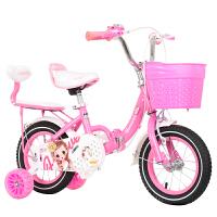 永久儿童自行车3岁宝宝脚踏车2-4-6-7-8-9-10岁折叠童车女孩单车