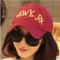 帽子 女网红同款时尚韩版时尚字母女士鸭舌帽 男女士户外运动新品防晒遮阳棒球帽