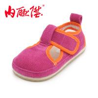内联升童鞋机纳底布鞋婴儿鞋童凉鞋宝宝鞋北京布鞋 5421