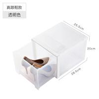 抽屉式家用鞋柜收纳鞋子整理箱透明鞋盒鞋子收纳盒塑料家居日用收纳用品