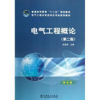 电气工程概论(第二版)/肖登明/普通高等教育十二五规划教材 肖登明