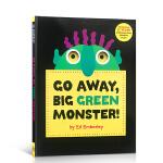 Go Away, Big Green Monster!走开,绿怪兽!(儿童认知书,廖彩杏推荐,精装)ISBN9780316236539