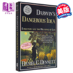 【中商原版】达尔文的危险思想:进化和生命的意义 英文原版 Darwin's Dangerous Idea: Evolu