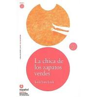 【预订】La Chica de los Zapatos Verdes [With CD (Audio)]