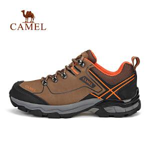 【每满200减100】camel骆驼户外男款徒步鞋 登山鞋防滑减震吸汗户外鞋