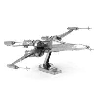 爱拼 金属DIY 拼装模型 3D立体拼图 星球大战 坡达梅隆X翼战机