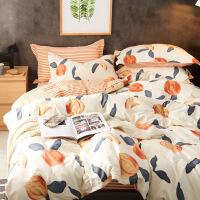 【官方旗舰店】床上四件套ins风被套150X200学生宿舍三件套欧式简约床单风格套件