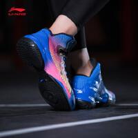 李宁篮球鞋男鞋篮球系列魅影李宁云减震支撑包裹战靴运动鞋ABAM007
