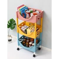 儿童玩具置物架收纳架落地多层客厅家用幼儿园零食整理架子储物箱 3层