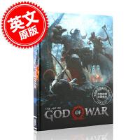[现货]战神 游戏艺术设定集 英文原版 The Art of God of War 索尼PS4同名游戏进口画册 奎托斯