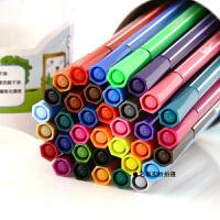 真彩可水洗水彩笔套装 儿童涂鸦绘画彩色画笔桶装12 18 24 36色