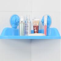 20191213021632841吸盘三角浴室置物架卫生间吸盘三角置物架浴室免打孔厕所厨房收纳架壁挂式转角架颜色随机