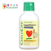 美国原装童年时光液体钙镁锌成长营养液,婴幼儿儿童宝宝 婴儿补钙  474ml