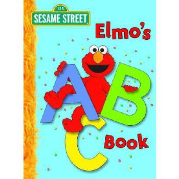 英文原版 芝麻街:跟阿莫学ABC Elmo's ABC Book (Sesame Street)