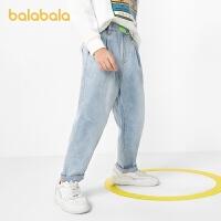 巴拉巴拉男童长裤儿童裤子牛仔裤春装男大童中大童休闲潮