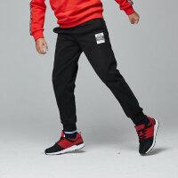 【3件3折到手价:71.7元】鸿星尔克(ERKE)童装 男童裤子 2018冬季新品儿童运动休闲加厚加绒保暖男童运动裤针