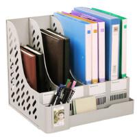 办公用品文件架加厚大号四栏收纳文件框资料架文件栏文件