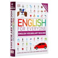 人人学英语:英语词汇学习 英文原版 DK-English for Everyone English Vocabulary Builder 语言学习