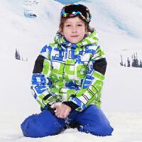男孩女孩 保暖儿童滑雪服 套装