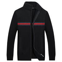 伯思凯2017秋季新款毛衣外套商务立领大码男士羊毛衫 支持货到付款
