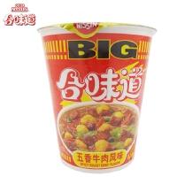 合味道 BIG方便面 (110g 五香牛肉味)单个装 大杯面 公仔面 泡面