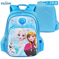 迪士尼公主书包1-3年级一小学生书包苏菲亚女童减负儿童双肩包