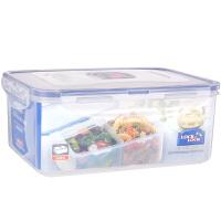 乐扣乐扣塑料保鲜盒2分隔2.3L密封盒微波炉便当饭盒HPL825B