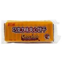 嘉士利 巧克力味夹心饼干 135g 办公室零嘴 休闲零食 饼干糕点