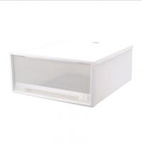 衣柜透明塑料收�{箱桌面收�{盒多�映�鲜叫�盒衣物整理箱收�{柜