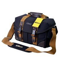 相机包尼康单反帆布摄影单肩包D90D7100D7200D810D850D750D610D5相机包