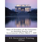 Rules of Procedure of the Committee on Homeland Security an