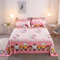 法兰绒毛毯加厚保暖柔软舒适毯子午睡毯单双人毛毯被加绒卡通床单