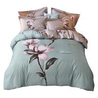 3D立�w四件套床上用品4件套公主被套床��1.5床品套件1.8m 2.0m(6.6英尺) 床