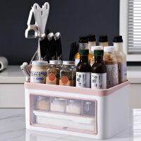 刀架置物架厨房置物架刀架用品家用大全灶台台面调味瓶调料罐收纳架子筷子盒