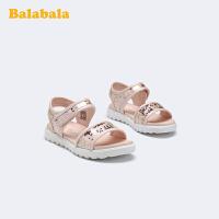【3件5折价:85】巴拉巴拉官方童鞋儿童凉鞋小童鞋女梦幻甜美沙滩鞋夏季