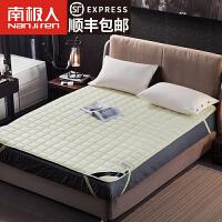 南极人新西兰羊毛床垫床褥子1.8m加厚双人保暖防滑1.5m垫被垫子