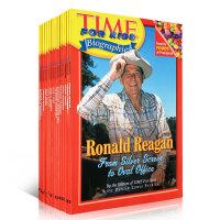 英文原版儿童书 Time for kids 时代周刊儿童版人物传记系列8本套装科普读物