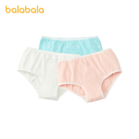 【2件6折:47.4】巴拉巴拉女童�妊�三角棉�和�短�中大童��力透�庥』ㄈ��l�b�r尚女