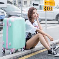 撞色万向轮拉杆箱20寸糖果色小清新行李箱女韩版学生24密码旅行箱 24寸【买一十 终身保修】
