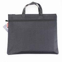 晨光(M&G) 提收纳包资料袋A4拉链袋双层文件包文件袋ADM92933 黑色