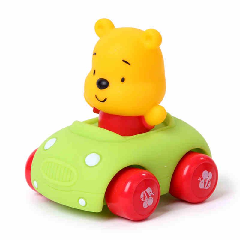 儿童回力车玩具车婴幼儿惯性车小汽车维尼熊模型男女孩