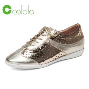 红蜻蜓coolala 2017春季新款 时尚运动鞋女士单鞋 舒适透气鞋