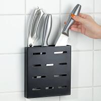 壁挂式放刀刀架厨房用品置物收纳架子刀座不锈钢免打孔简约风刀具